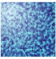 Blue triangular background colorful mosaic vector