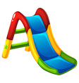 A colourful slide vector