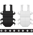 Origami stag beetle creation kit vector