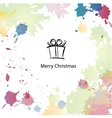 Christmas cartoon background vector