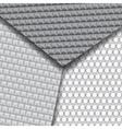 Set of several seamless carbon fiber patterns vector
