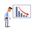 Frustrated businessman vector