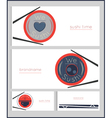 Sushi time business card vector