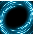 Blue abstract background eps 10 vector