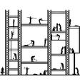 Big scaffold vector