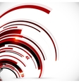 Abstract dark red spiral background vector