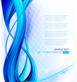 Abstract blue neon elegant background with design vector