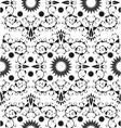 Baroque seamless geometric ornament vector