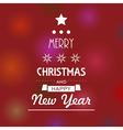 Christmas tree stars 4 vector