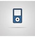 Portable media player icon vector