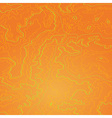 Topographic map tropic orange vector