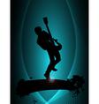 Rock musician poster vector