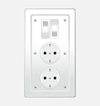 Switch one for home vector