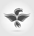 Eagle symbol isolated on white background vector