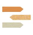 Wooden sign 2 vector