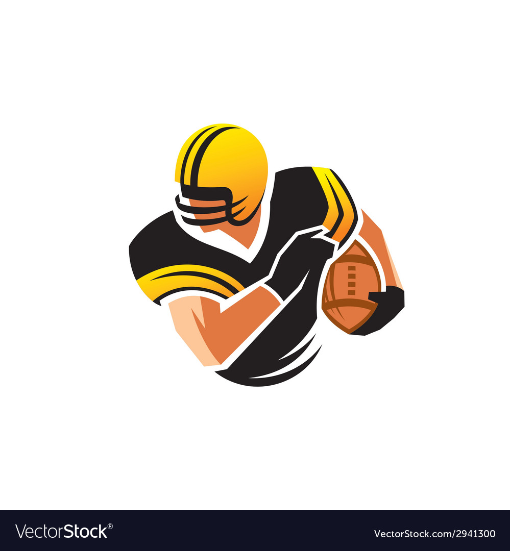 American football sign vector | Price: 1 Credit (USD $1)