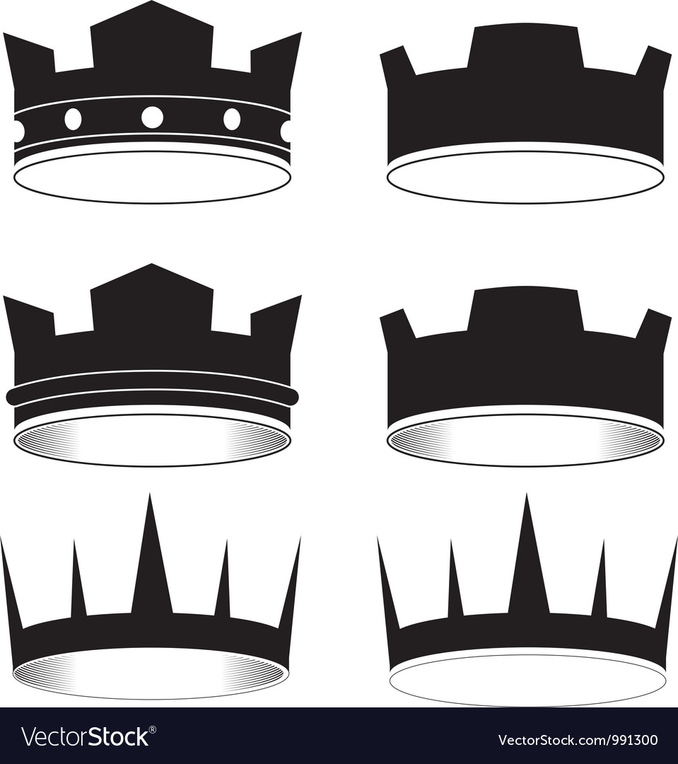 Black tiara vector | Price: 1 Credit (USD $1)