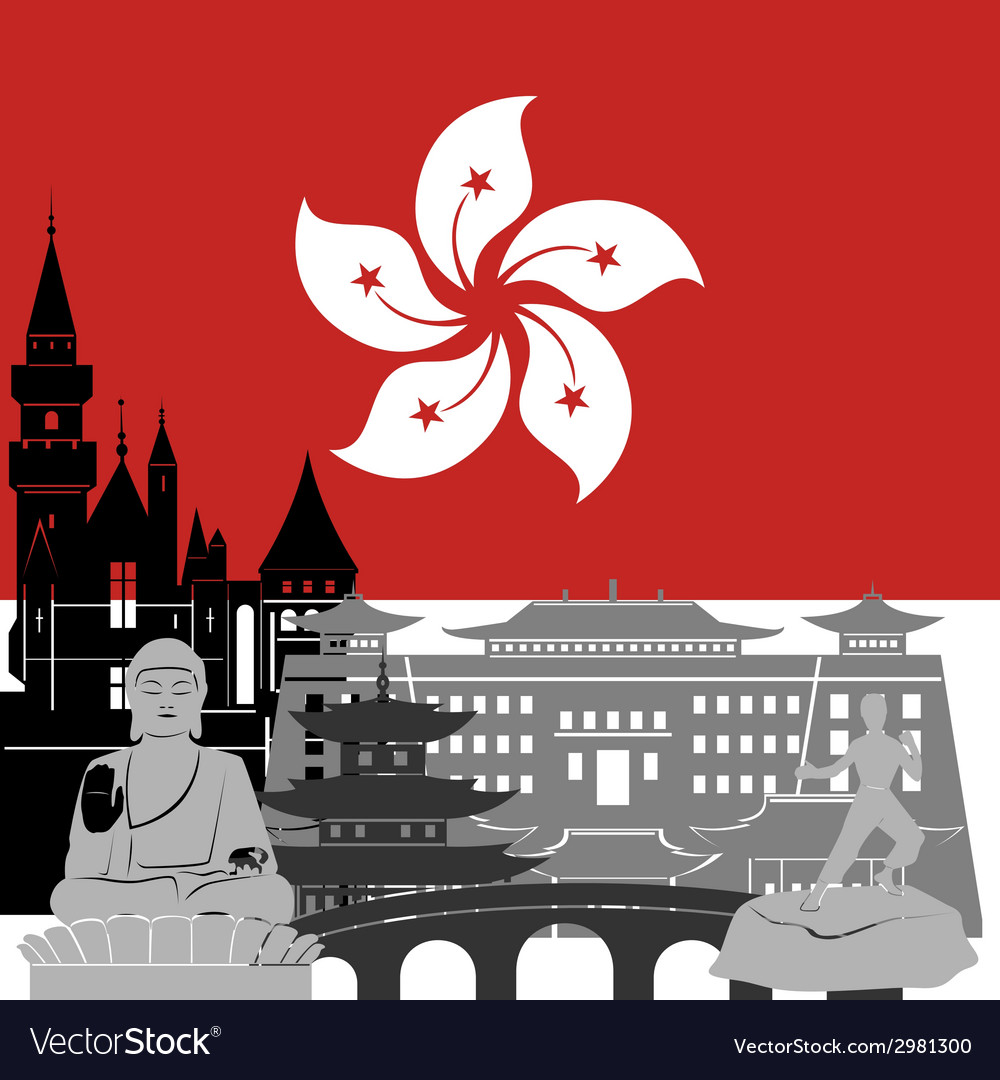 Hong kong vector | Price: 1 Credit (USD $1)