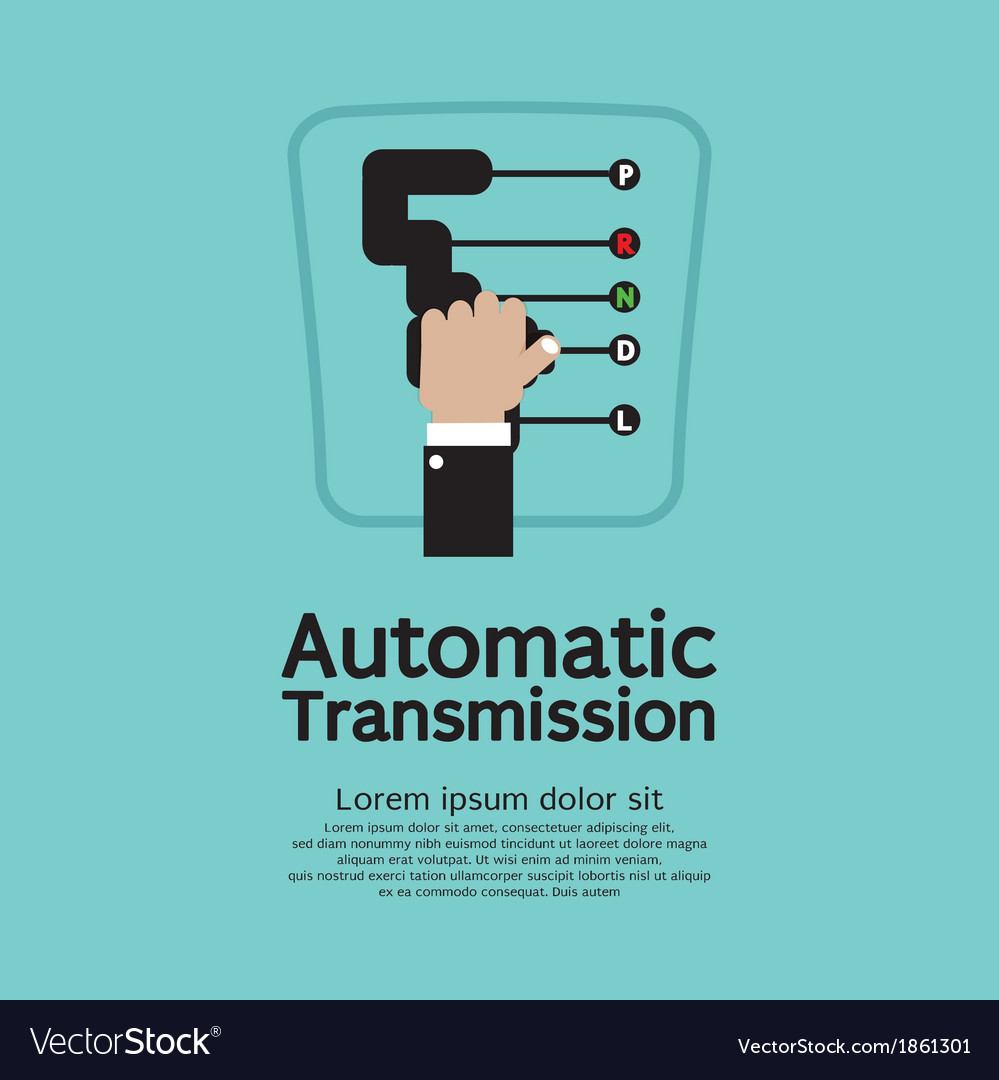 Automatic transmission vector | Price: 1 Credit (USD $1)
