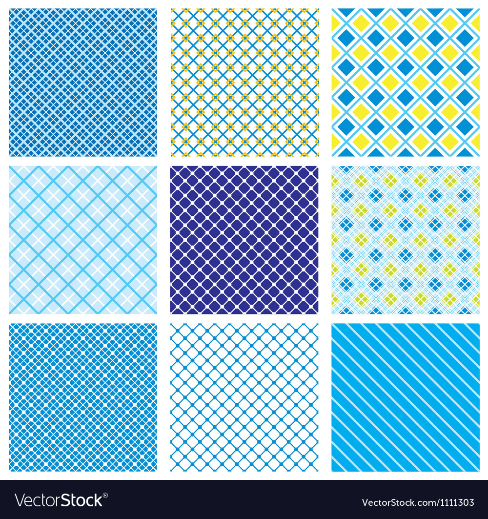 Seamless fabric checked pattern vector | Price: 1 Credit (USD $1)