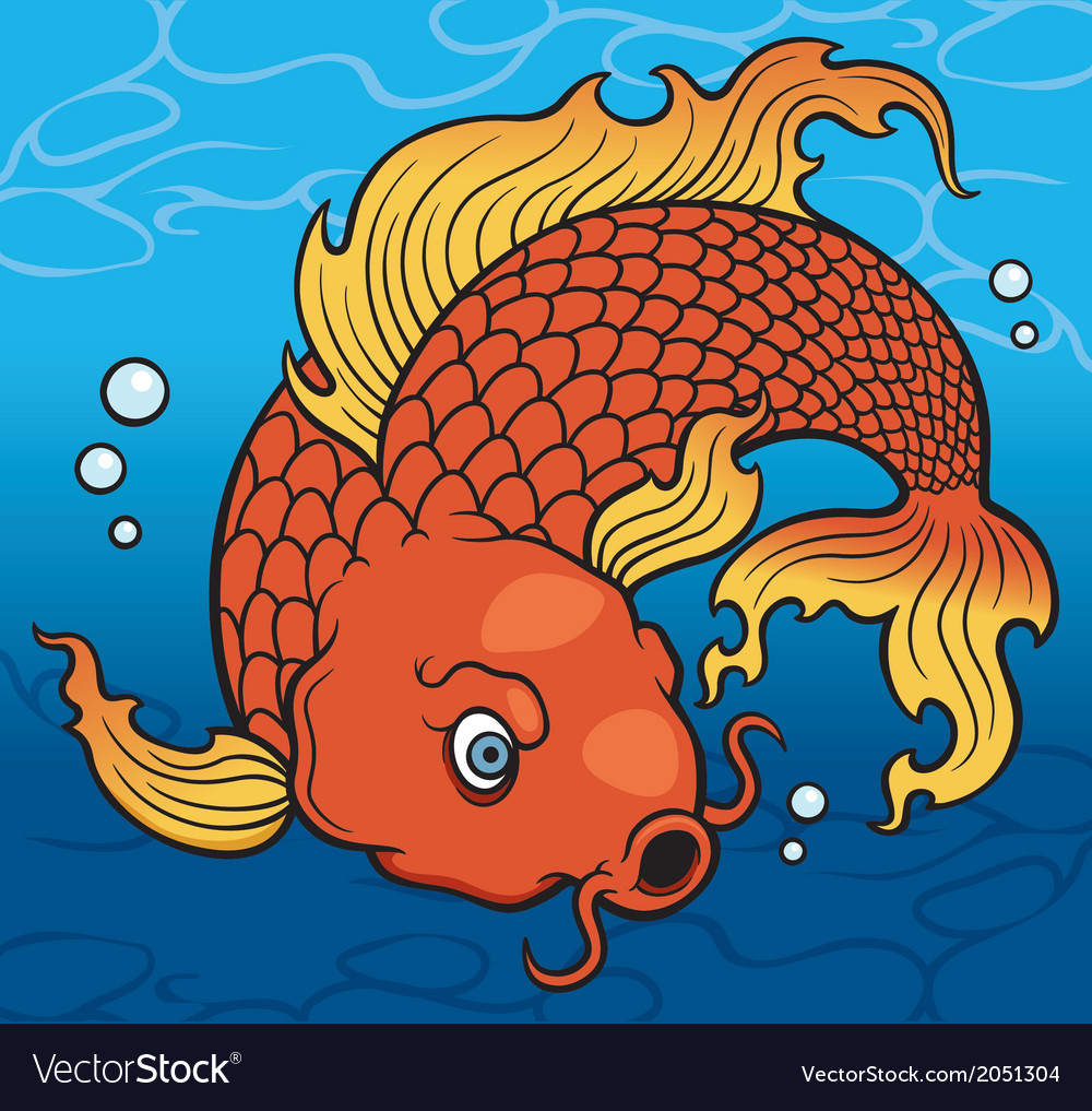Koi fish vector | Price: 1 Credit (USD $1)