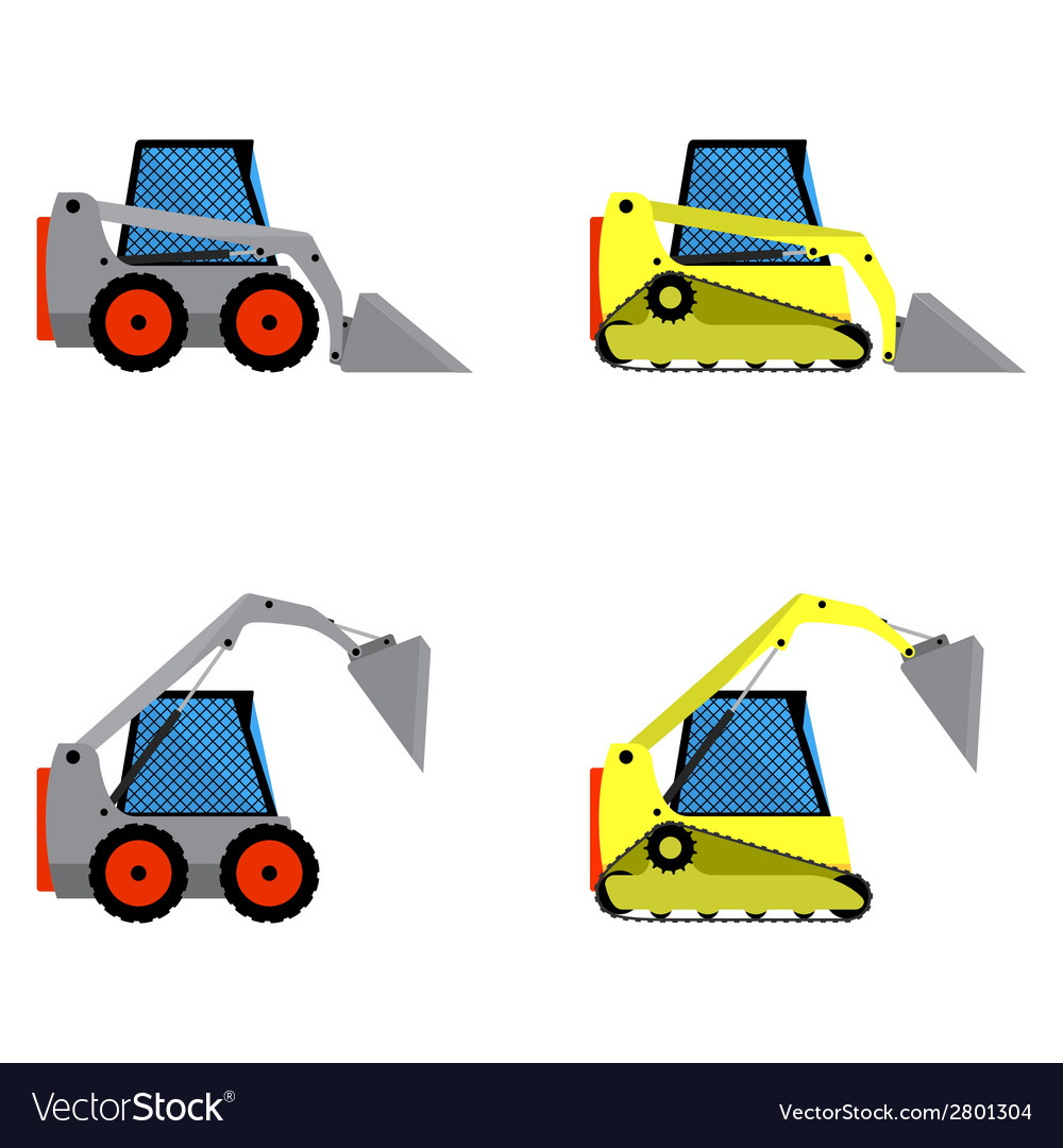 Small loaders set vector | Price: 1 Credit (USD $1)
