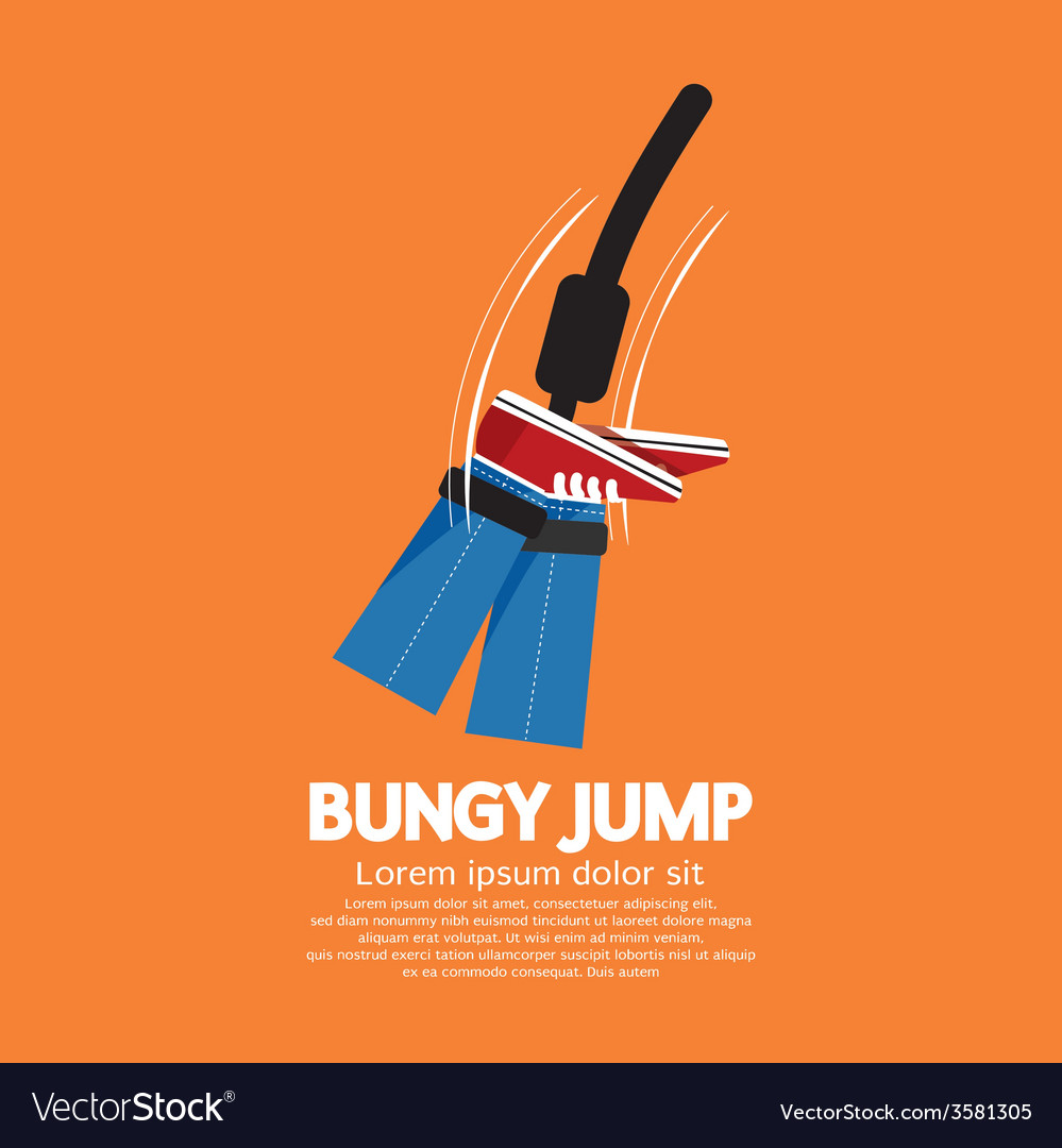 Bungy jump vector | Price: 1 Credit (USD $1)