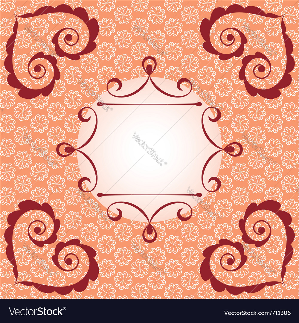 Asian style card vector | Price: 1 Credit (USD $1)
