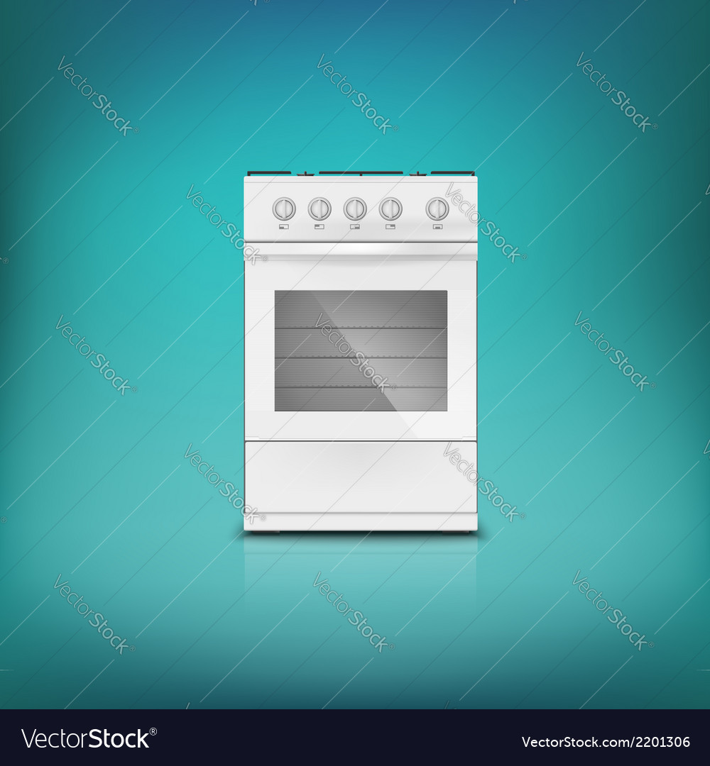 Gas cooker vector | Price: 1 Credit (USD $1)
