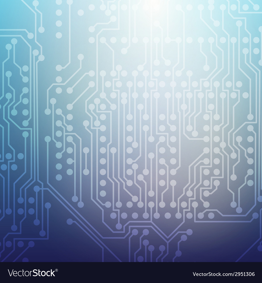 Microchip background electronic circuit eps10 vector