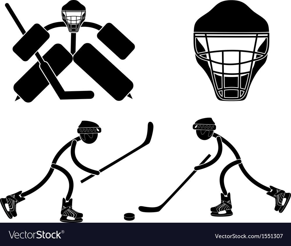 Ice hockey vector | Price: 1 Credit (USD $1)