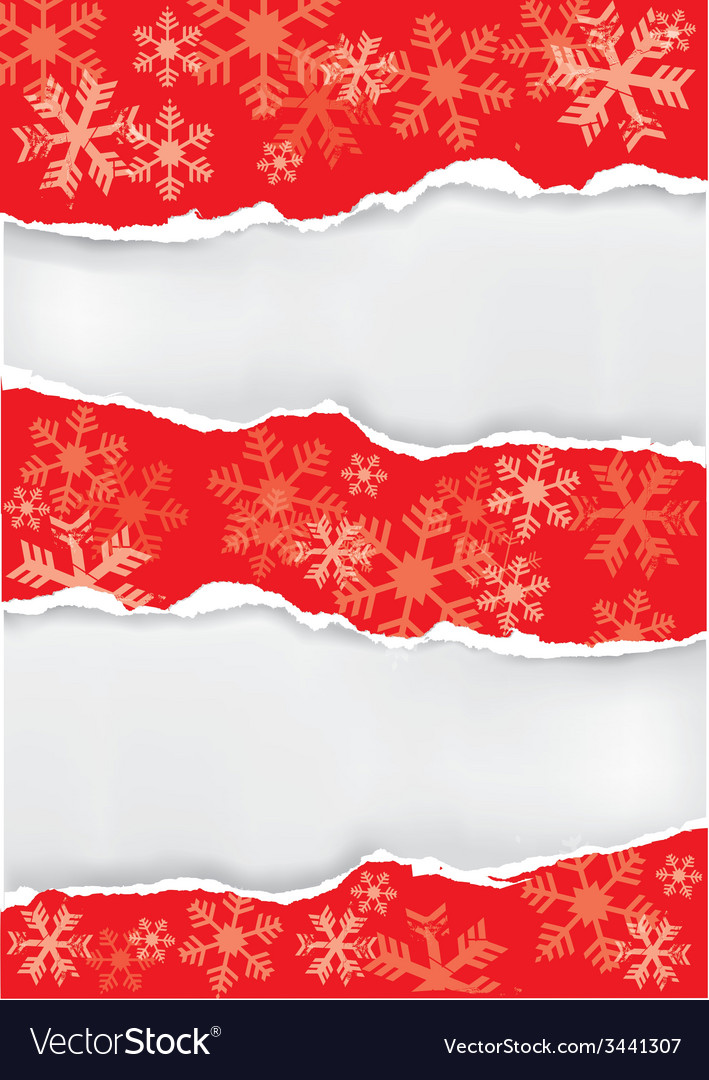 Red grung christmas torn paper background vector   Price: 1 Credit (USD $1)