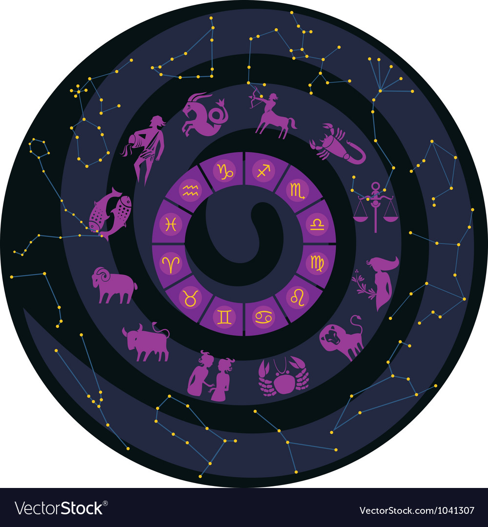 Zodiac wheel vector | Price: 3 Credit (USD $3)