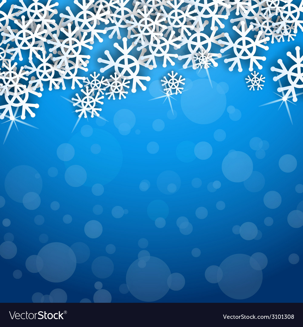 Cool snowflakes vector | Price: 1 Credit (USD $1)