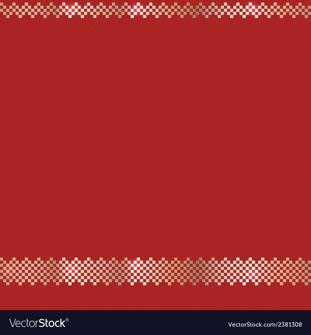 Red ornate christmas pattern vector | Price: 1 Credit (USD $1)