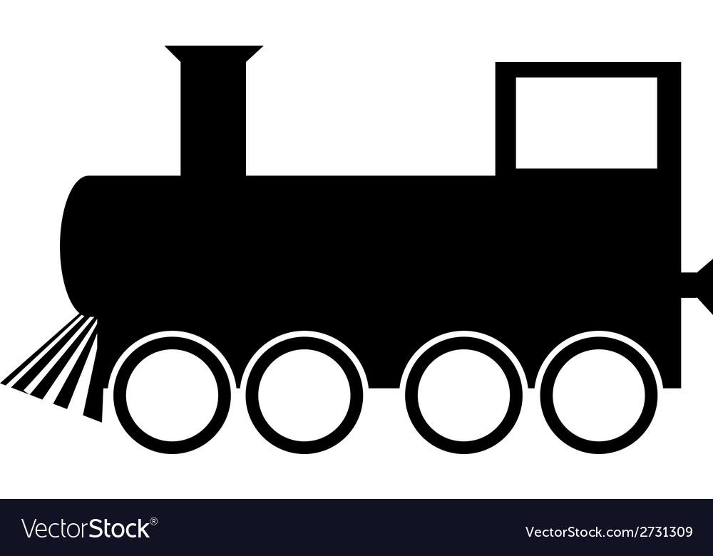 Locomotive icon vector | Price: 1 Credit (USD $1)