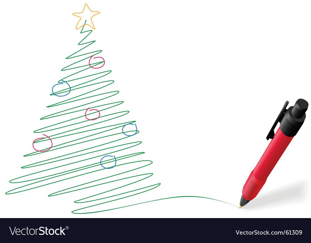 Pen drawing vector   Price: 1 Credit (USD $1)
