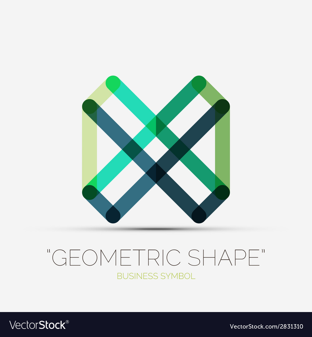 Abstract line composition icon company logo vector   Price: 1 Credit (USD $1)