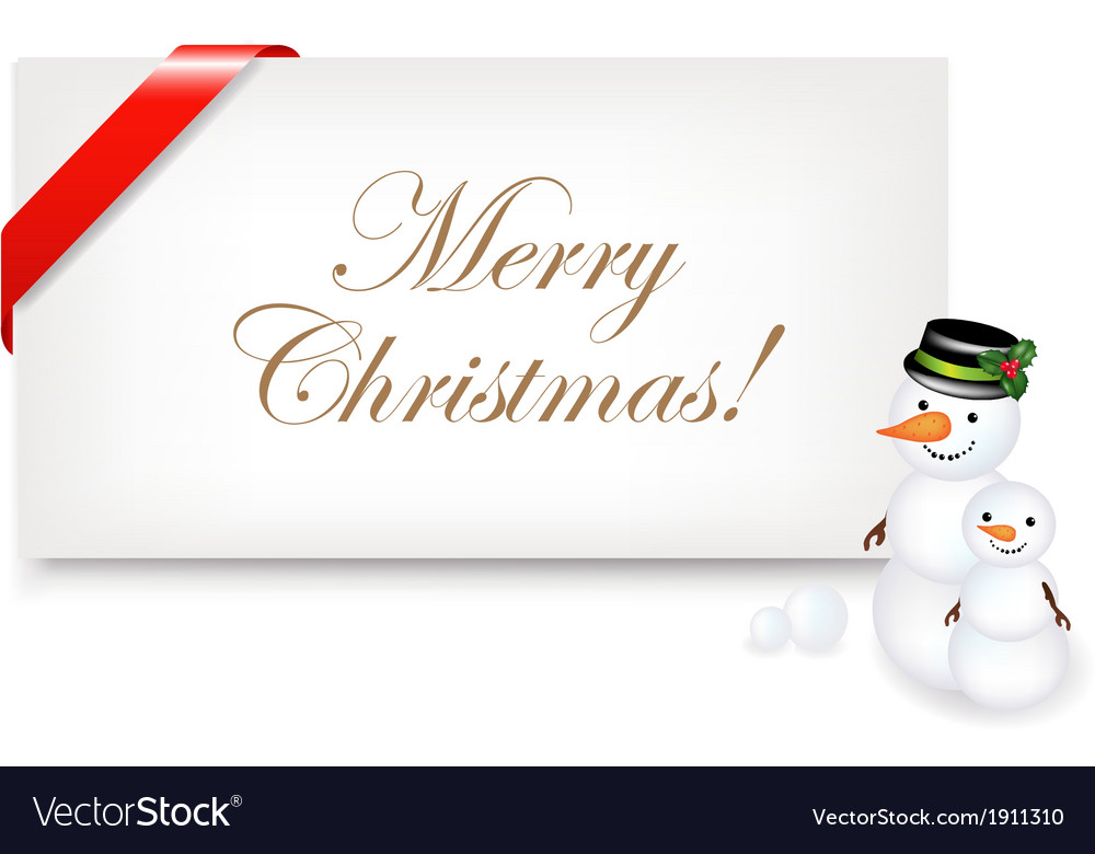 Christmas blank gift tag vector | Price: 1 Credit (USD $1)