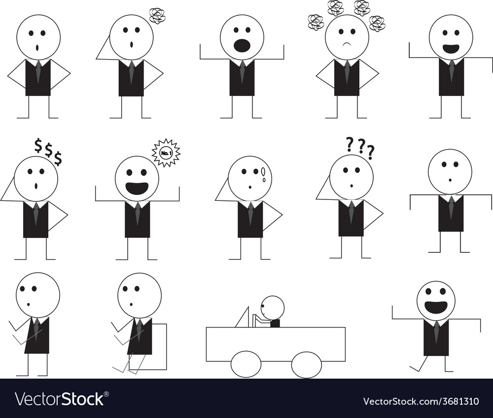 Man manner sign cartoon1 01 vector | Price: 1 Credit (USD $1)