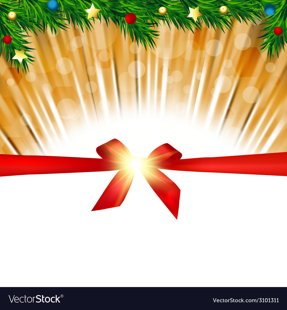 Christmas background greeting card vector | Price: 1 Credit (USD $1)