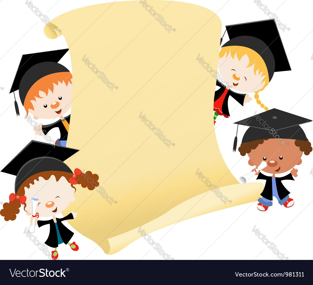 Graduation message vector | Price: 3 Credit (USD $3)