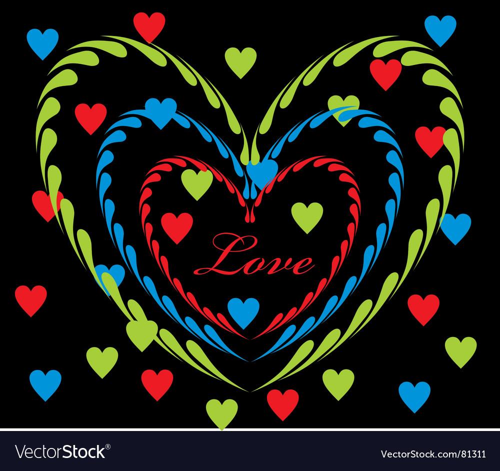 Love graphic vector | Price: 1 Credit (USD $1)
