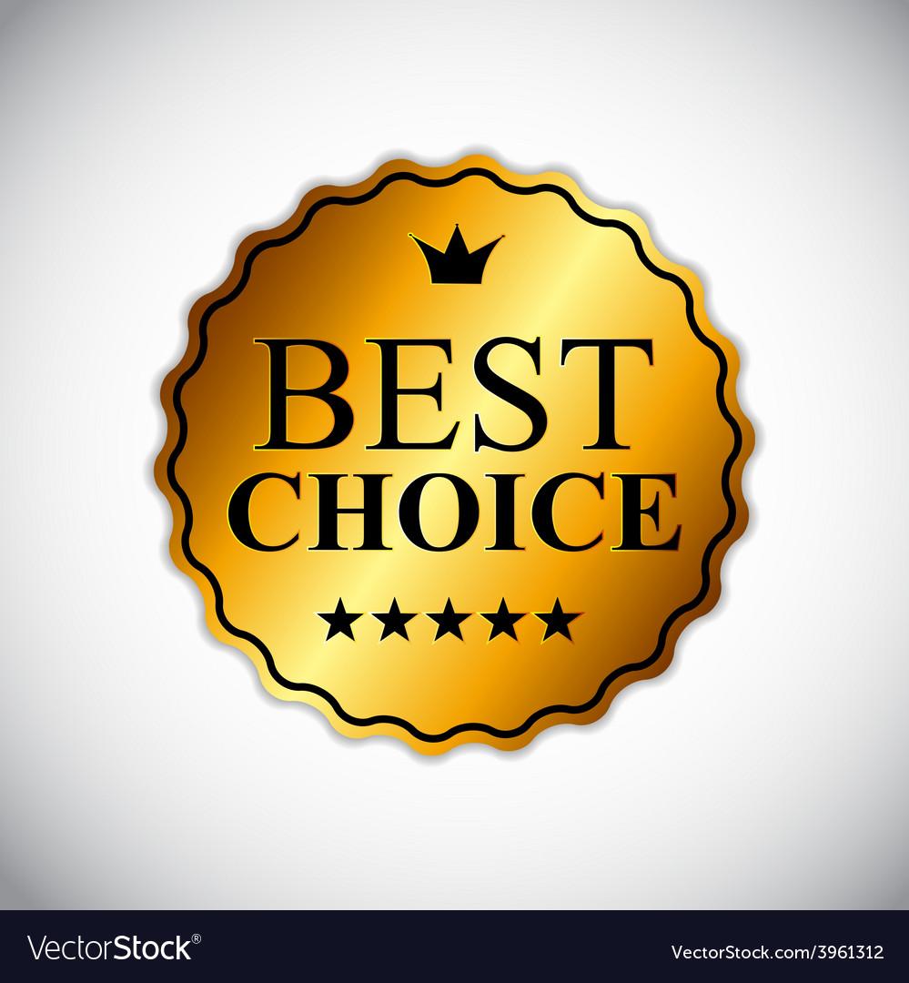 Best choice golden label eps10 vector | Price: 1 Credit (USD $1)