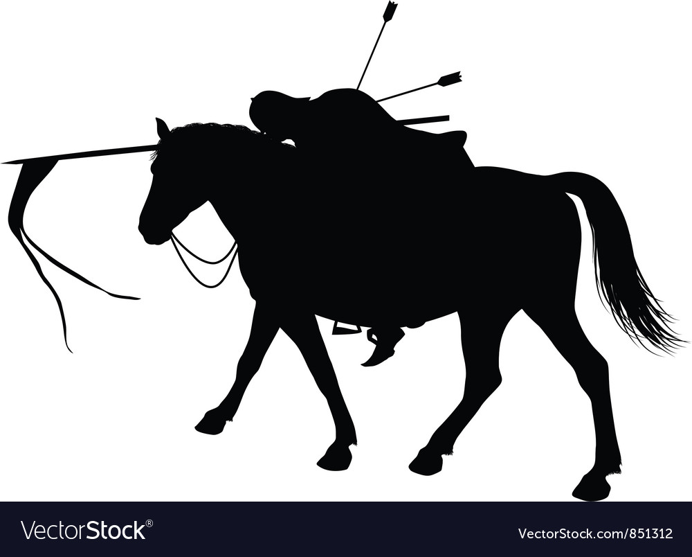 Dead horseman vector | Price: 1 Credit (USD $1)