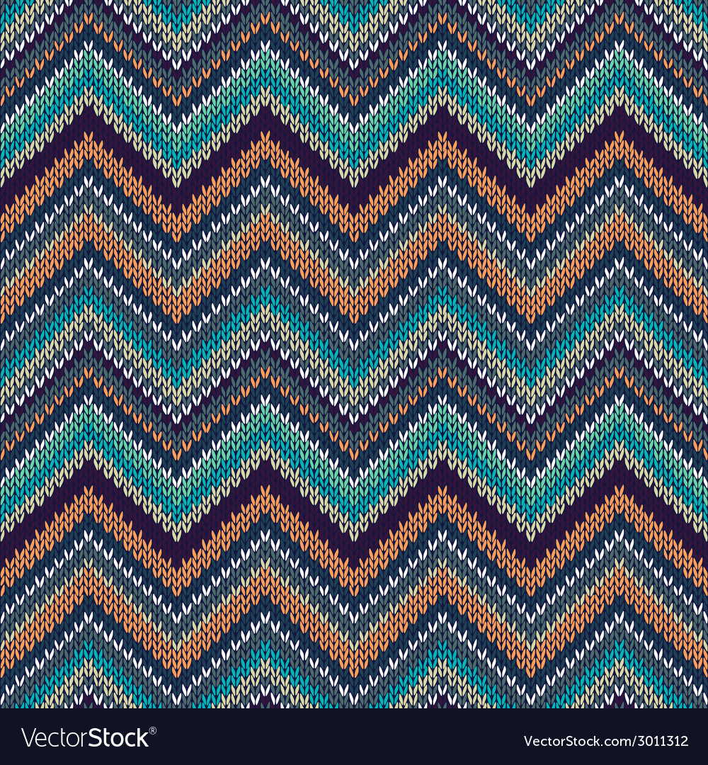 Knit seamless pattern f vector   Price: 1 Credit (USD $1)