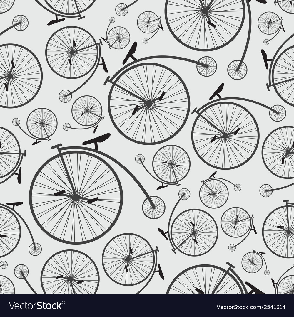 Bicycle historic pattern eps10 vector | Price: 1 Credit (USD $1)