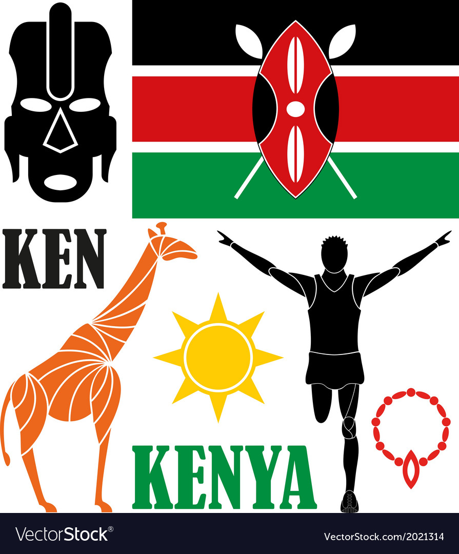 Kenya vector | Price: 1 Credit (USD $1)