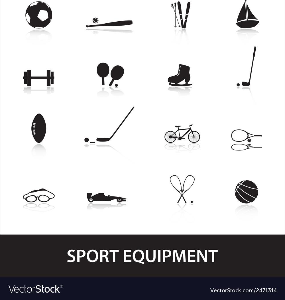 Sport equipment eps10 vector   Price: 1 Credit (USD $1)