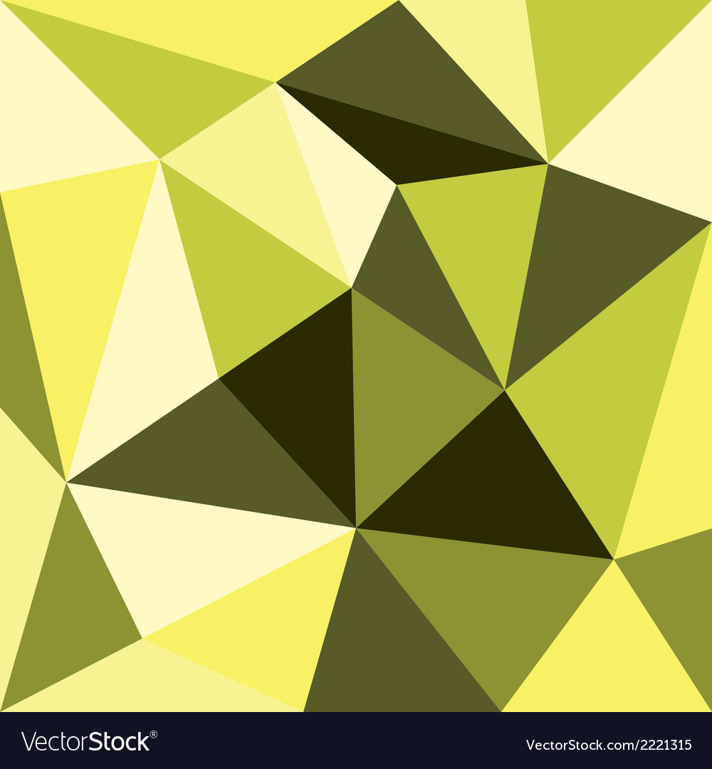 Green and yellow triangle background or pattern vector | Price: 1 Credit (USD $1)